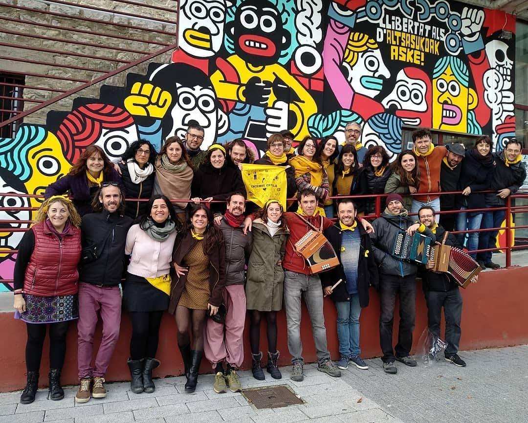 Escamot català 2018: kronika, argazkiak eta bideoak