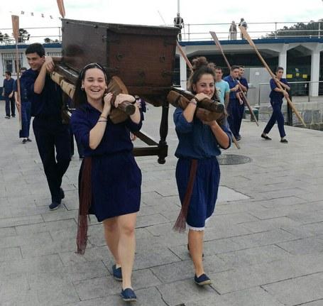 Lezo, Lekeitio, Lesaka eta Zaldibar: emakumeak dantza ekitaldietan