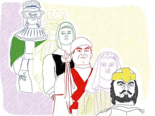 Erraldoi tradizioaren inguruan 7: Koreografiak